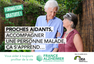 Entrepreneurs & Go renouvelle son soutien à France Alzheimer en 2018 au travers de son dispositif de formation des aidants